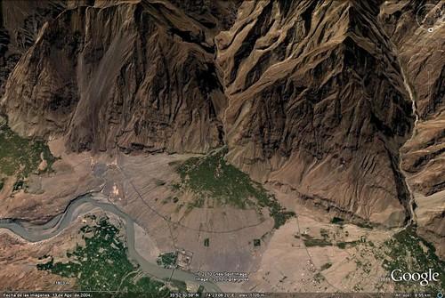 Abanico aluvial - Chhamongarh (Pakistán) - 01