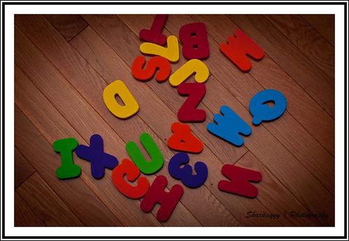 360/365 - 09/23/10 [365 Days @ 50mm] - Alphabet Soup