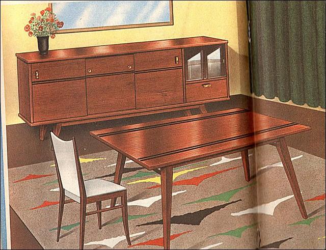 Modern dining room - The 1960s Modern Dining Room Flickr Photo Sharing