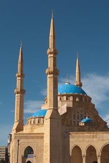 mosque, Beirut