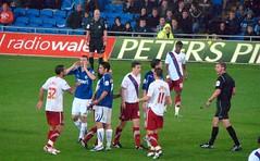 Whittingham fouls Garvan