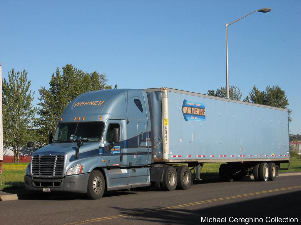 Werner enterprises freightliner cascadia 53513