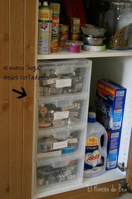 Y por fin la cocina el rinc n de bea - Organizar interior muebles cocina ...