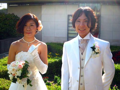 古荘貴司さんと木村充里さん結婚式