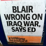 Blair Wrong On Iraq War, Says Ed