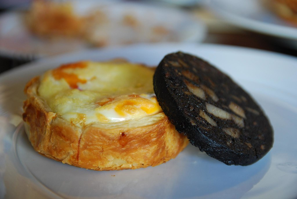 Egg, Ham and Leek Pie with Black Pudding - pastry - Il Fornaio AUD9.50, AUD5.50