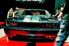 automobile(1.0), automotive exterior(1.0), vehicle(1.0), stock car racing(1.0), performance car(1.0), automotive design(1.0), auto show(1.0), dodge challenger(1.0), classic car(1.0), land vehicle(1.0), luxury vehicle(1.0), muscle car(1.0),