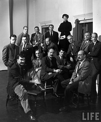 """Irascible Group of Advanced Artists,"" the Abstract Expressionists, by Nina Leen 1950"