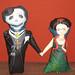 Dia de los Muertos dolls (Diego y Frida)