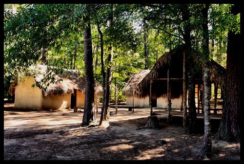building village alabama wetumpka mudhuts forttoulouse creekindian