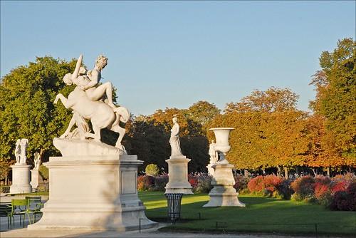 Le jardin des Tuileries (Paris)