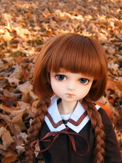 Caroline in Autumn