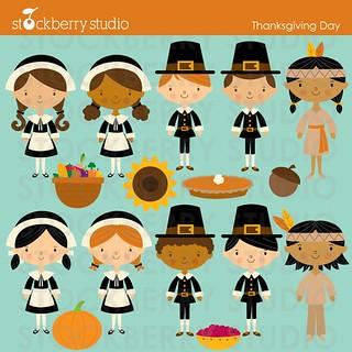 Thanksgiving Day Kids