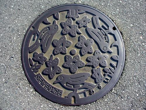 Yashiro Hyogo,manhole cover(兵庫県社町のマンホール)