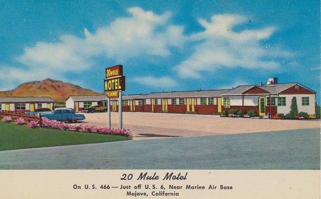 20 Mule Motel - Mojave, California