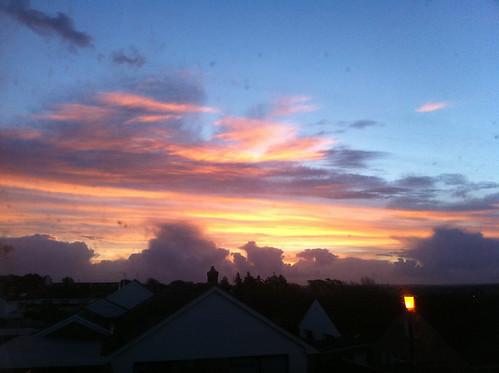 wales clouds sunrise landscapes pembrokeshire
