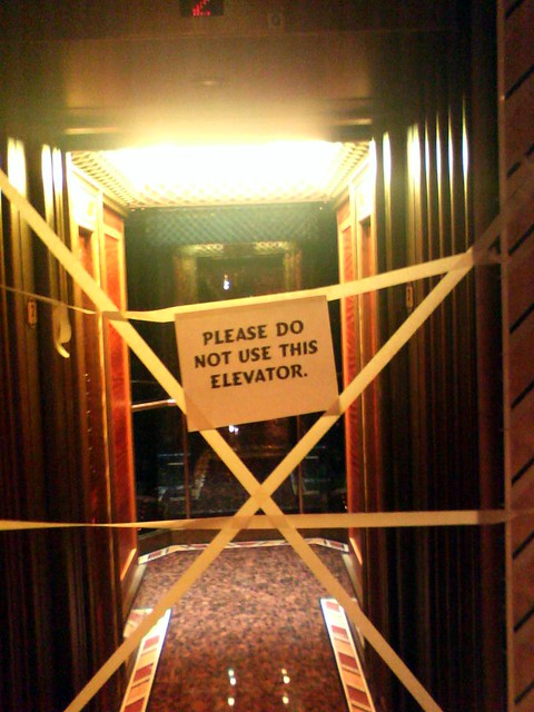 Broken Elevator Flickr Photo Sharing