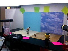 Sandtrooper vs. Sandy Cheeks Setup