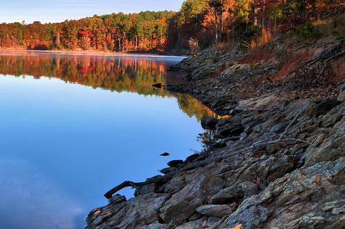 autumn fall raleigh fallslake