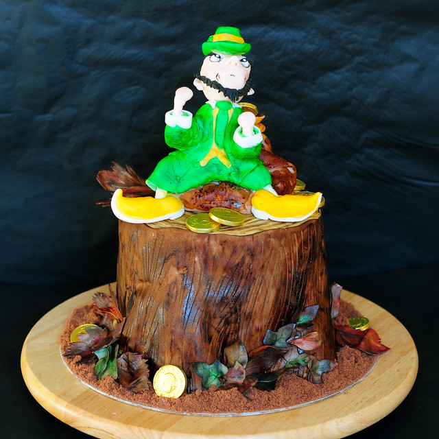 Fighting Irish Leprechaun Picture http://www.flickr.com/photos/val_1/5174221153/