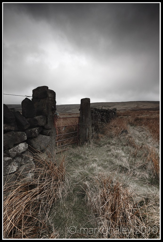 Top Withens, Haworth moor, West Yorkshire