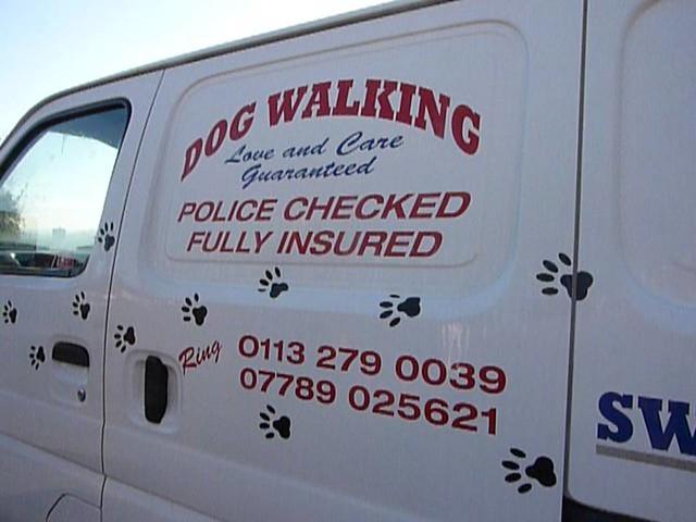 Police checked dog walking, Armley