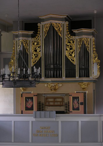 Niederschöna - Dorfkirche, organ