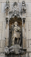 Statue, St Olave's Church, York