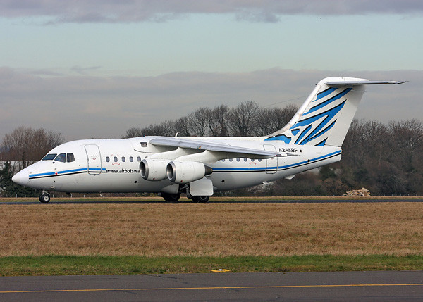 Air Botswana BAe146 'A2-ABF' Incident in Gaborone