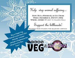 Vegas Veg Ice Cream Fundraiser
