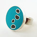 Stepping Stones Ring by Rebecca Geoffrey