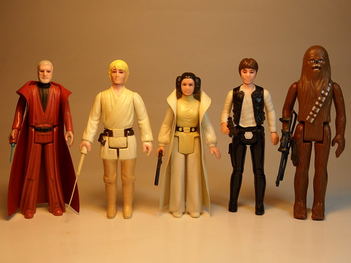 Vintage Star Wars Figures 1