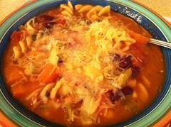 produce(0.0), laksa(0.0), jjigae(1.0), noodle soup(1.0), kimchi jjigae(1.0), sundubu jjigae(1.0), food(1.0), dish(1.0), soup(1.0), cuisine(1.0),