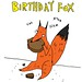 Birthday Fox card by scarygoround