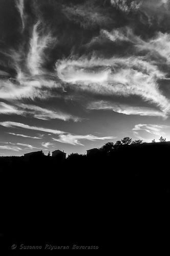 Mareggiata di nuvole