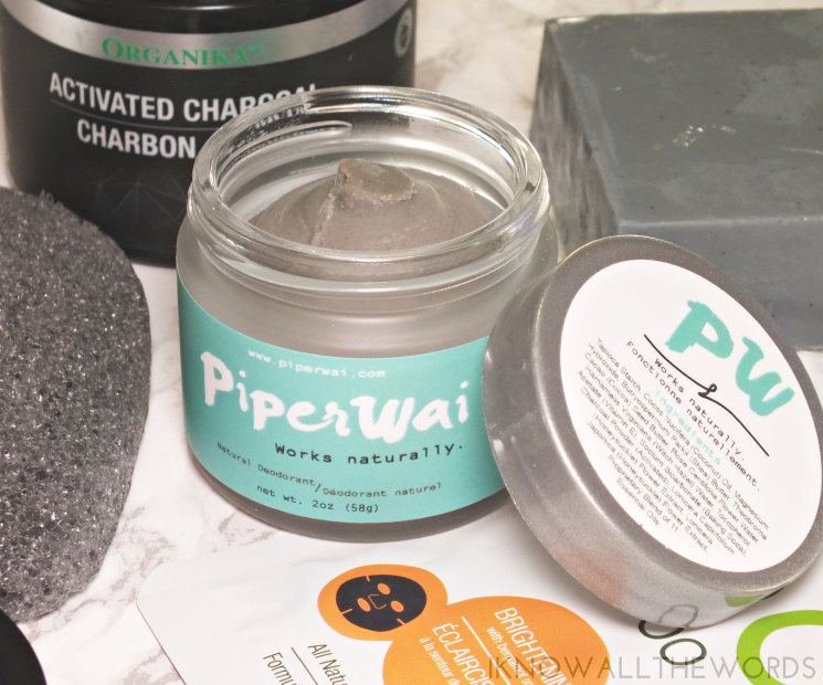 choosing charcoal piper wai natural deodorant