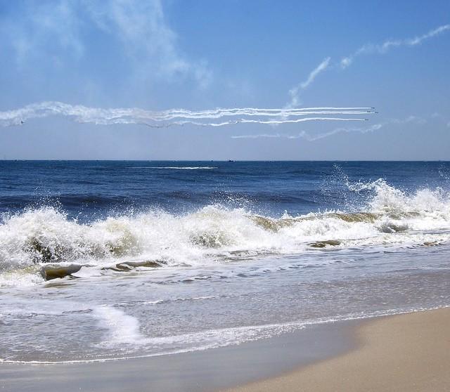 Blue Angels over Jones Beach, NY