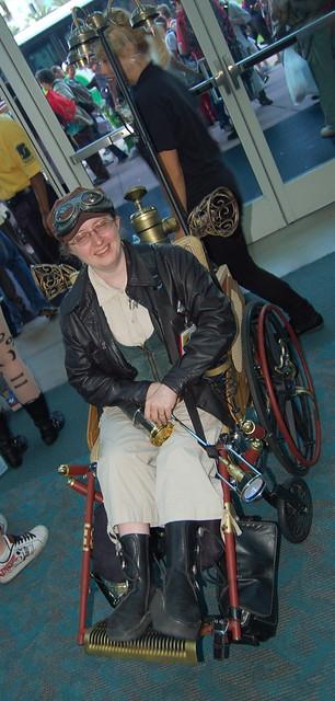 Comic Con 2010: Wheel Chair