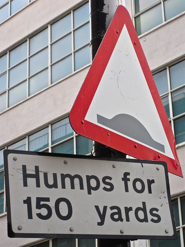 Humps for 150 Yards, London, UK by Robby Virus