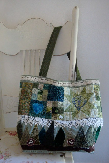 Green Bag Finished!  side 2