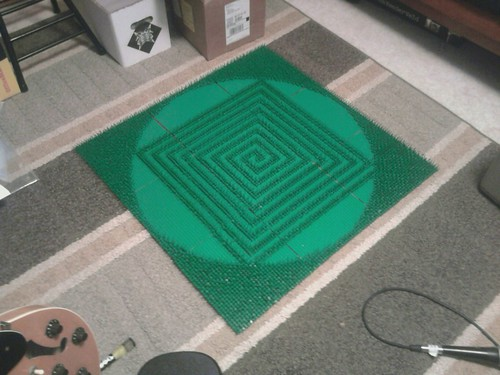first of many lego crop circles....