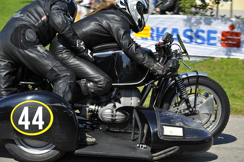 BMW Boxer sidecar racer :: ru-moto classic vintage motorcycles © Egger 5774