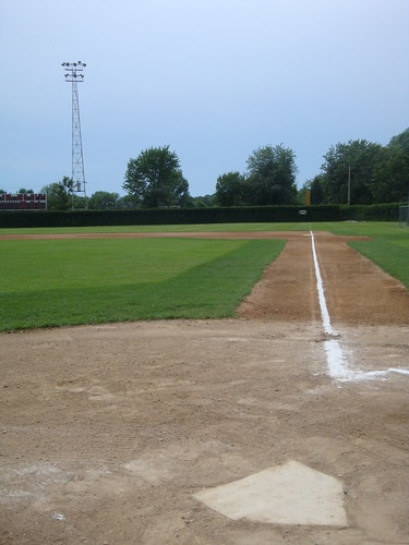 park cold home field minnesota ball town spring view baseball stadium plate ground right level amateur mn