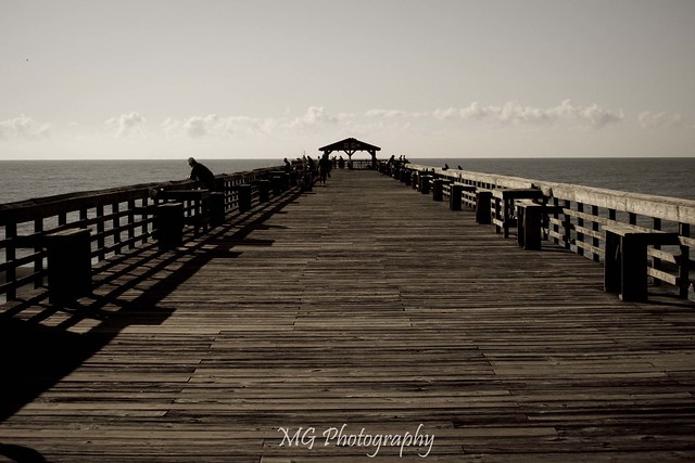 The fishing pier at myrtle beach state park flickr for Fishing piers in myrtle beach