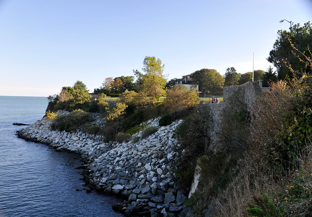 Cliff Walk in Newport