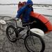 The bike-rafting setup by bdewoody
