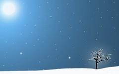 [フリー画像素材] グラフィック, イラスト, イラスト - 風景, 雪 ID:201112162200