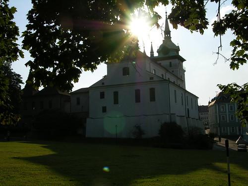sunset church czech religion iglesia kirche chiesa igreja église kostel teplice schönau εκκλησία teplitz ეკლესია եկեղեցի