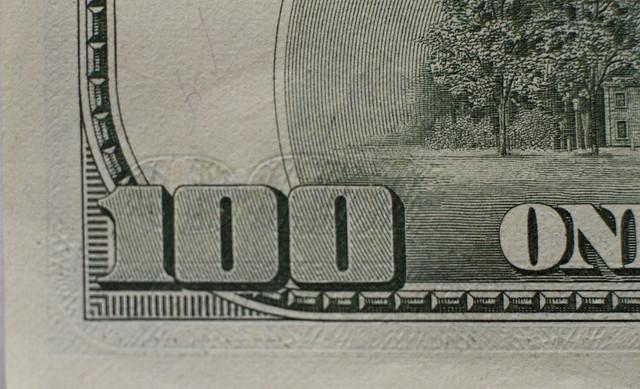 U.S. 100 dollar bill (2013)