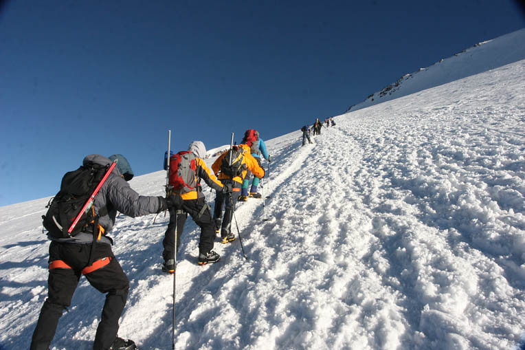 Guided Seven Summit Climbing Expedition Mount Elbrus